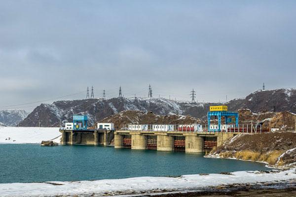 """Капшагайская ГЭС АО """"АлЭС"""", Капчагайская ГЭС"""