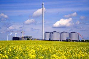 биогаз, Дания