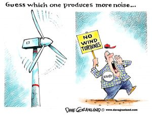 шум от ветряка