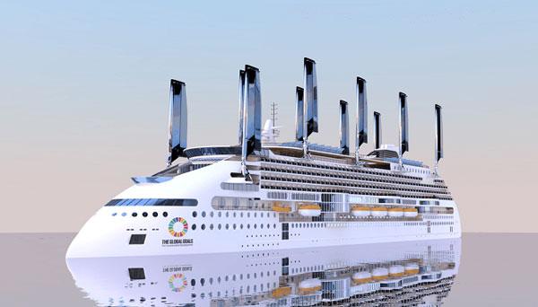 экологически чистый корабль, Peace Boat