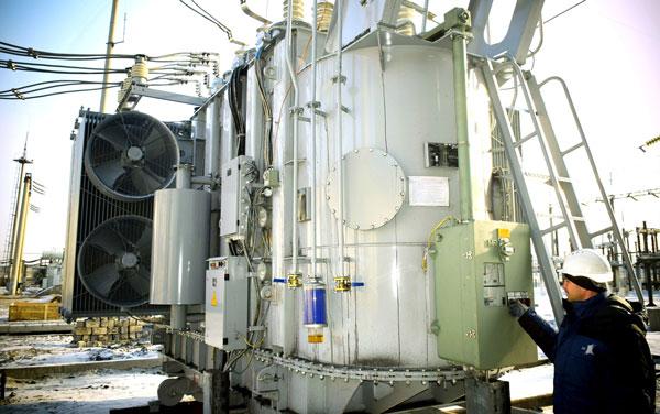 Новый ТДТН-40000 110 кВ на разрезе «Восточный»