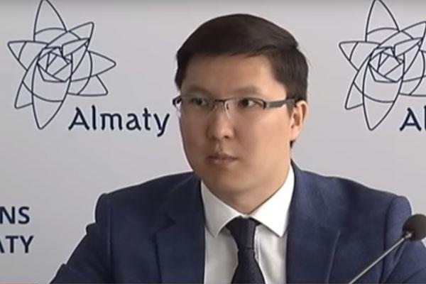 замруководителя Департамента Комитета по регулированию естественных монополий Бауыржан Кайырбек