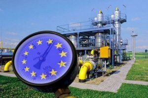 ЕС, импорт газа