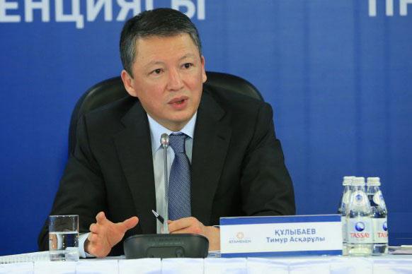"""Председатель Президиума """"Атамекена"""" Тимур Кулибаев"""