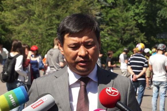 Руководитель управления энергетики Алматы, Максут Исахов