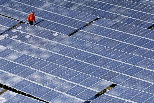 ВИЭ, солнечные панели
