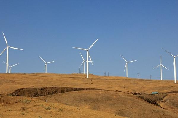 Китай, Казахстан, ветрогенерация, ВЭС