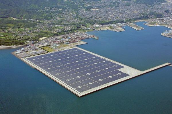 Япония, плавучая СЭС