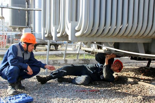 электрическая сеть Кыргызстана