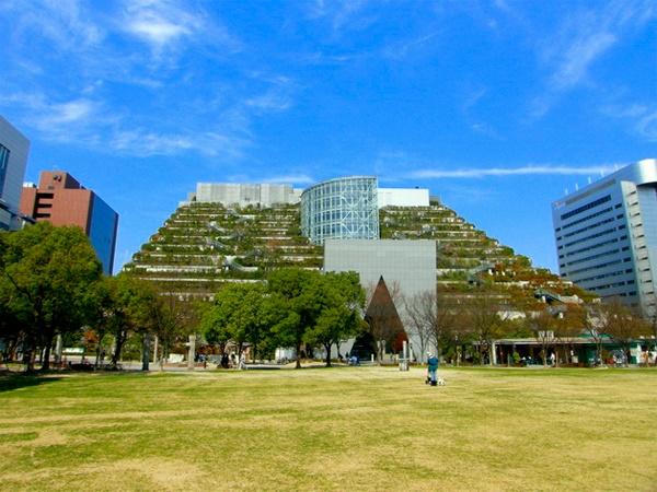 Дом-парк, Япония, экология, энергоэффектвность
