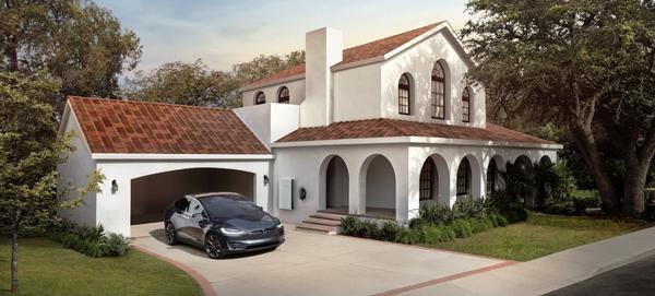 Солнечная крыша, Tesla, солнечные панели