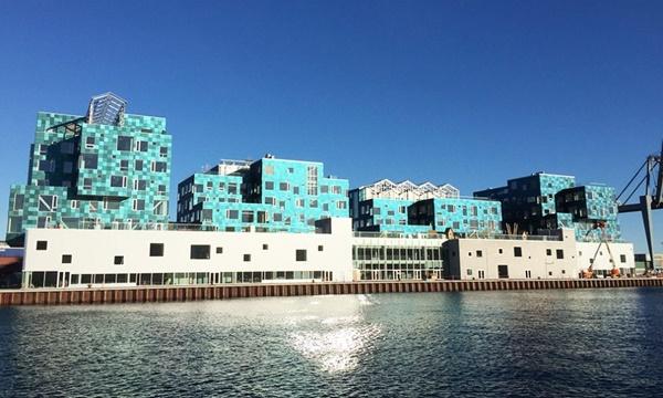 солнечная электростанция, Дания, школа, гелиопанели