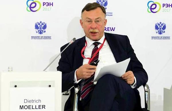 Президент Siemens в России Дитрих Мёллер