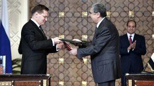 Акты о вступлении в силу коммерческих контрактов на сооружение АЭС «Эль Дабаа»