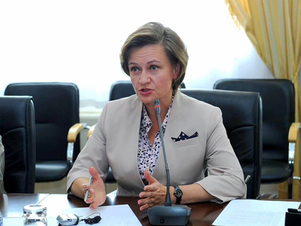 директор Ядерного общества Казахстана (ЯОК) – Наталья Жданова