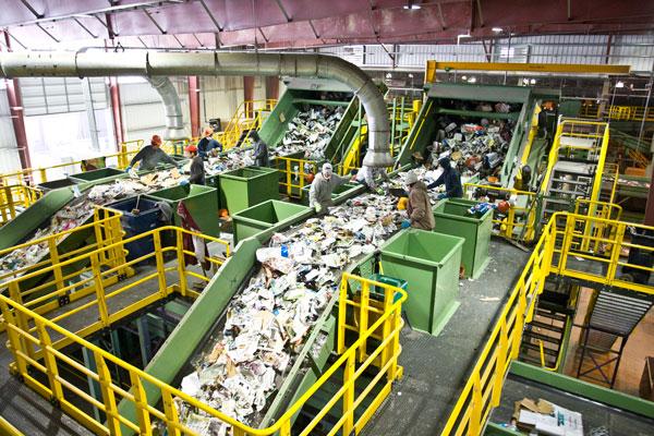 мусороперерабатывающая отрасль