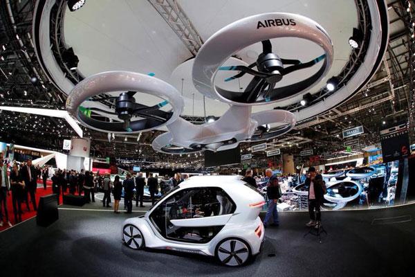 концепция «летающего» электромобиля