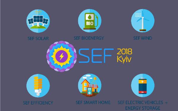 10-й Международный Форум и Выставка Устойчивой Энергетики SEF 2018 KYIV