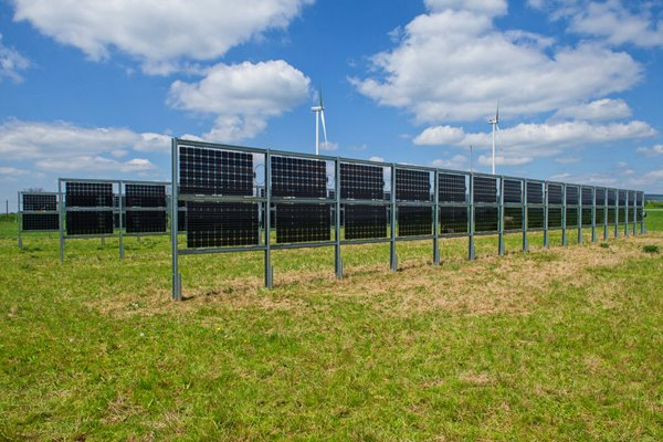 двусторонние солнечные панели
