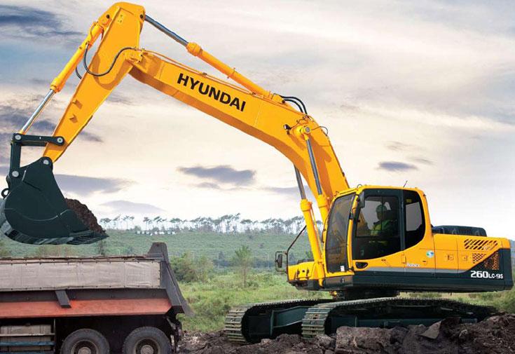 Hyundai презентовал электроэкскаватор