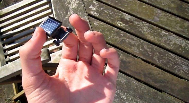 солнечные мини-батареи