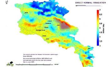 Схема возобновляемой энергетики в Армении