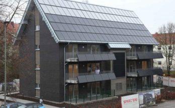 энергоэффективный многоквартирный дом в Германии