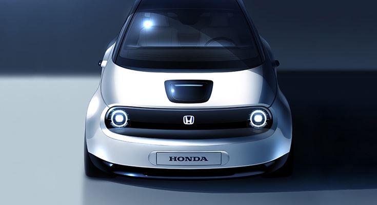 городской электромобиль Honda