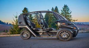 трехколесный электромобиль фото
