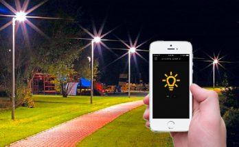 Уличное светодиодное SMART освещение