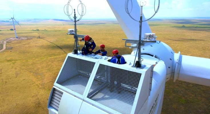 ВИЭ в Казахстане фото