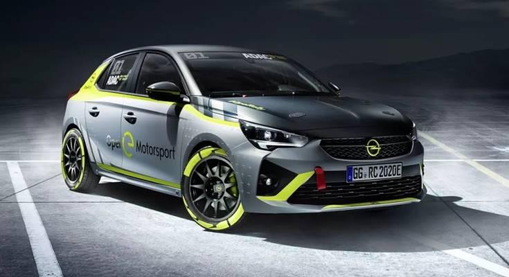 Opel электромобиль