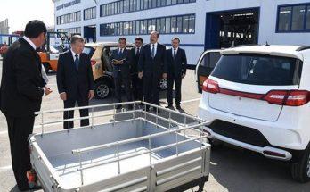 узбекские электромобили