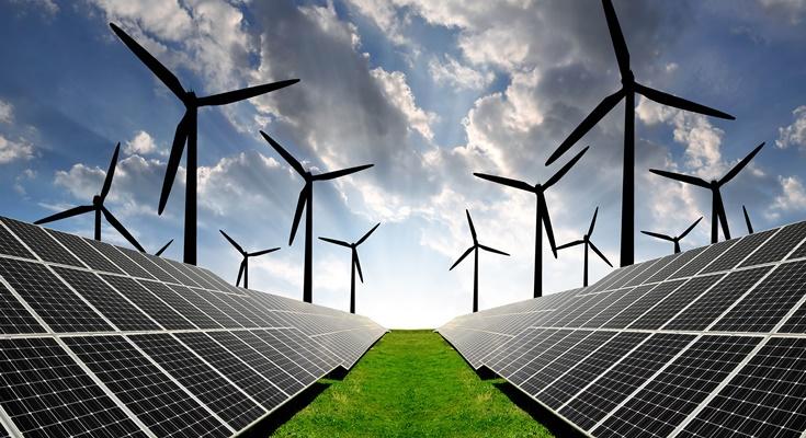 солнечная и ветровая энергетика