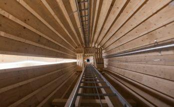 деревянная башня для промышленного ветрогенератора (фото 1)